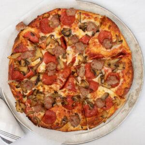 "Large 8 slice 12"" pizza"
