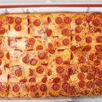 "Sheet 30 slice 26""x18"" pizza"