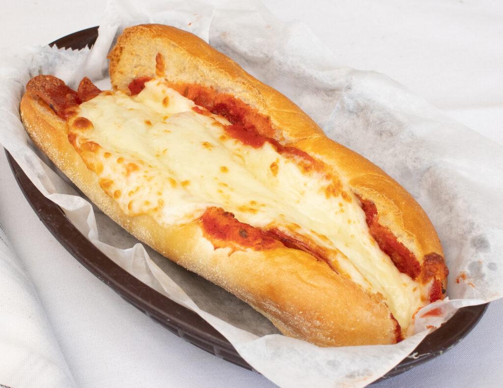 """9"""" pepperoni sub"""
