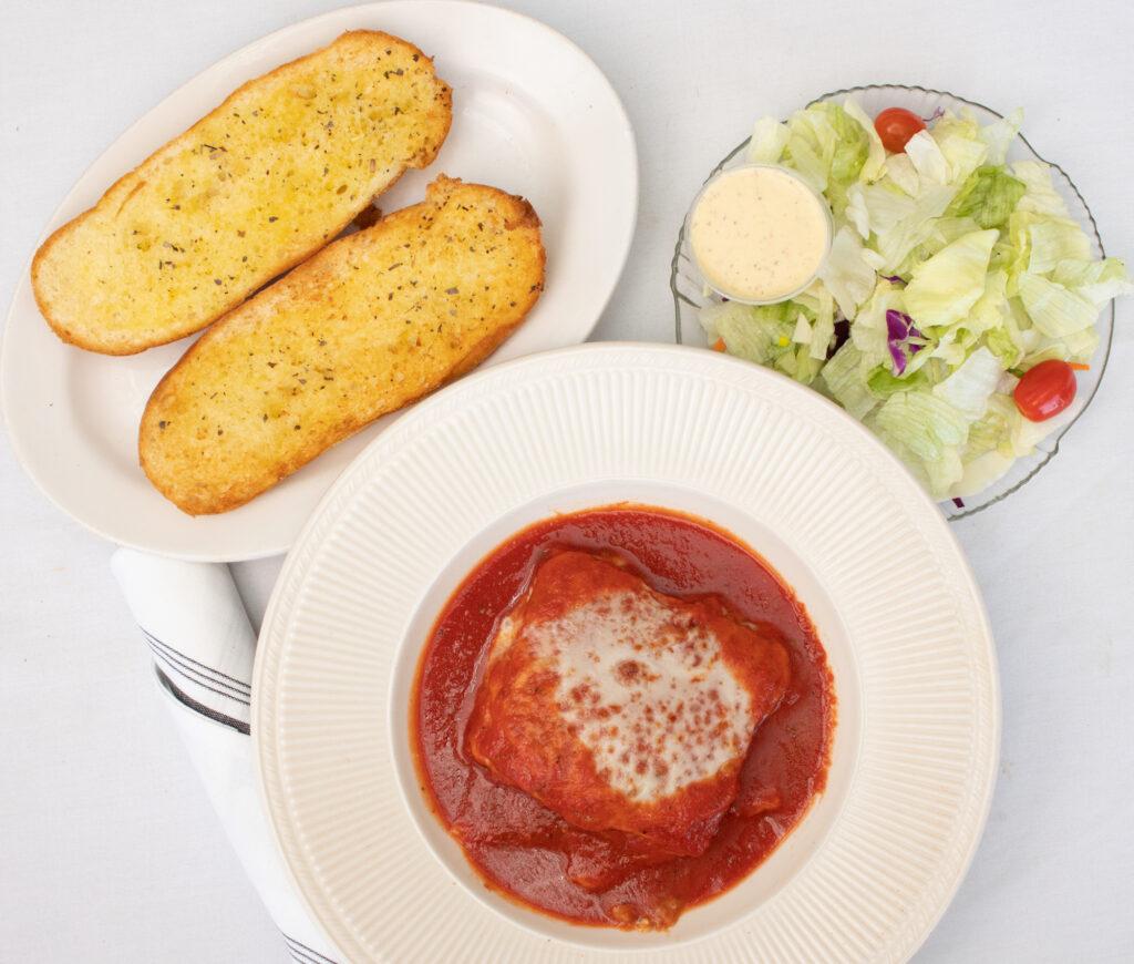 lasagna pasta dinner