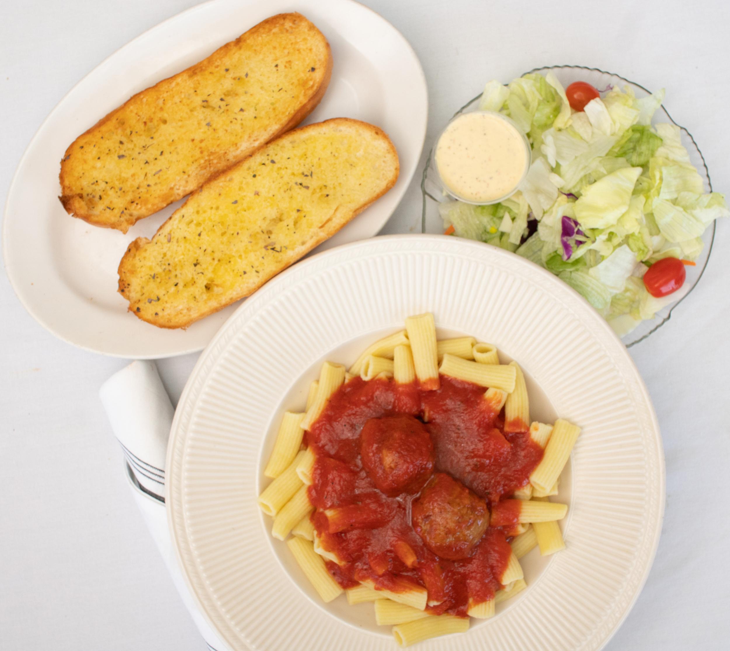 rigatoni pasta dinner